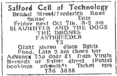 Manchester Evening News advert